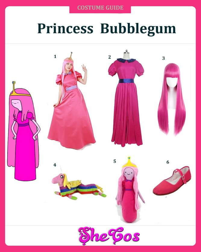 princess bubblegum costume diy