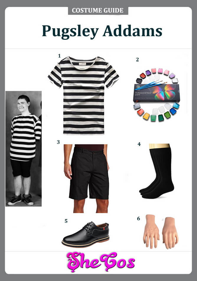 pugsley addams costume ideas