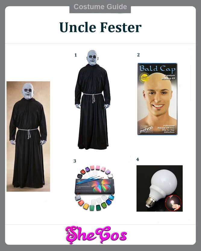 uncle fester costume ideas