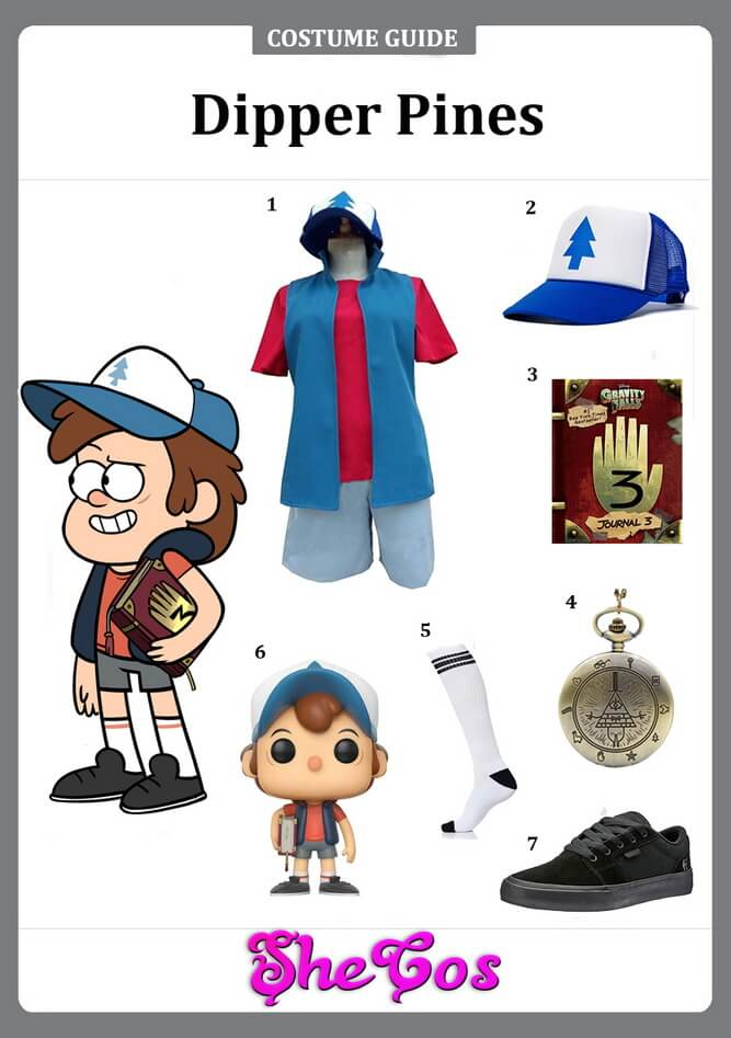 Dipper Pines cosplay ideas