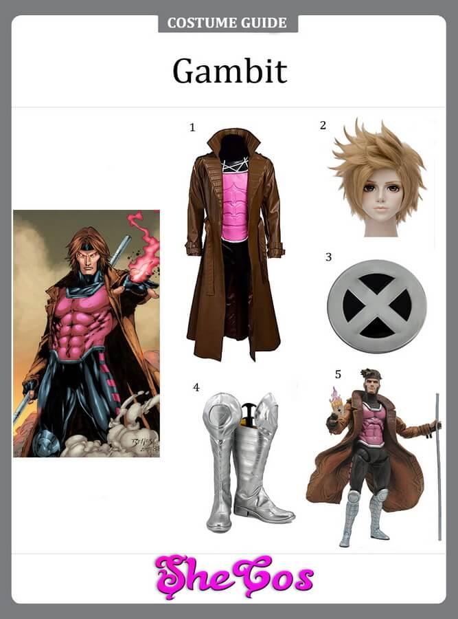 Gambit cosplay diy