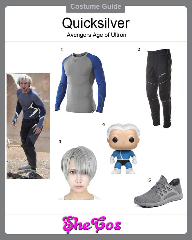 avengers age of ultron quicksilver costume ideas