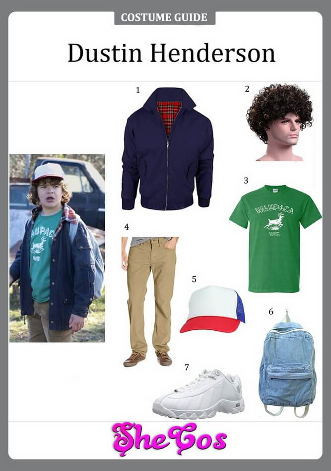 dustin henderson costume ideas