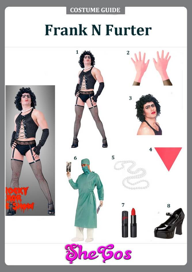 frank n furter costume diy