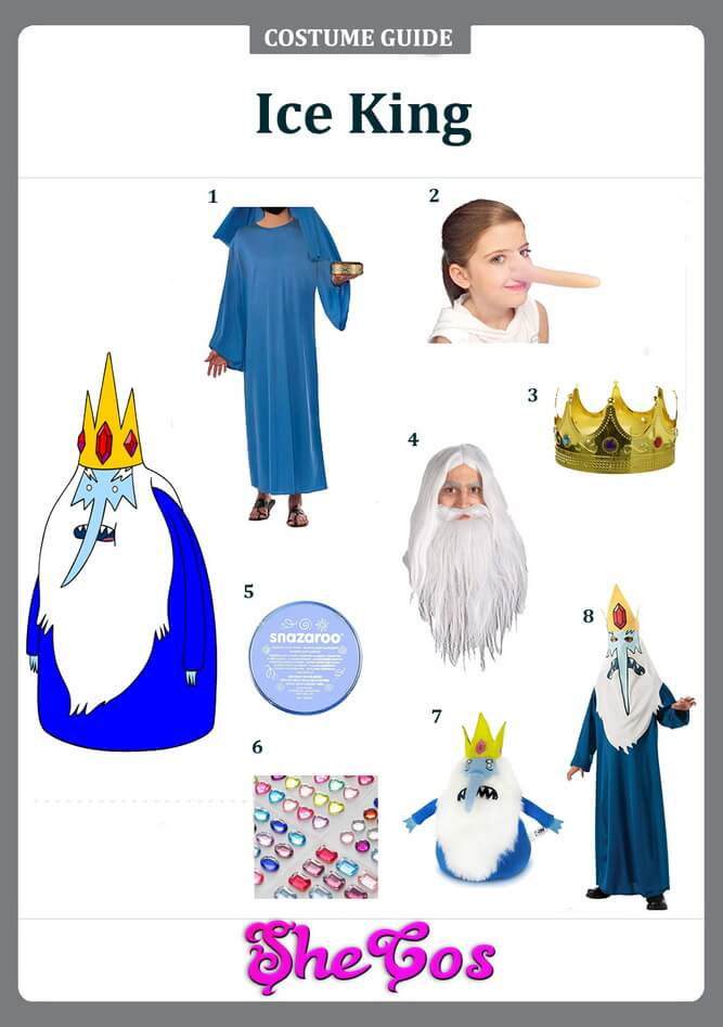 ice king costume ideas