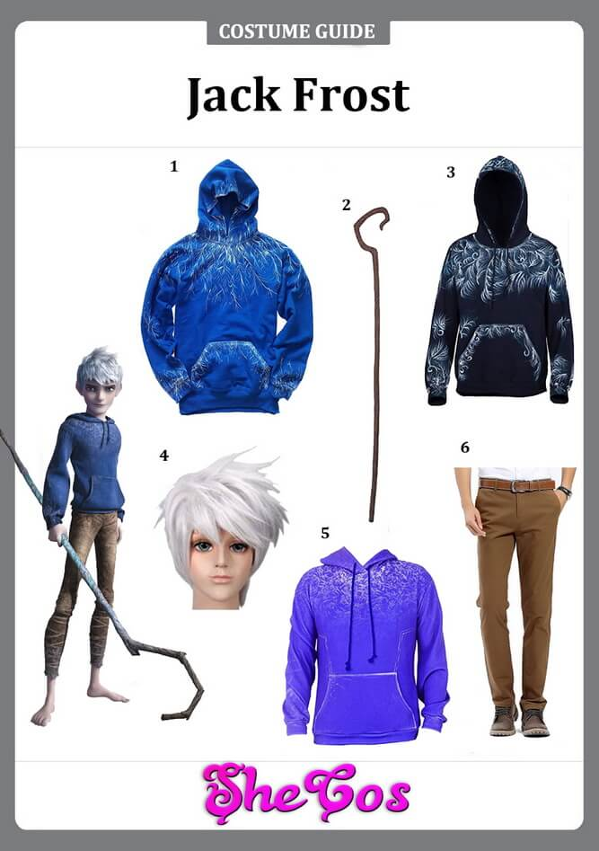 jack frost costume ideas