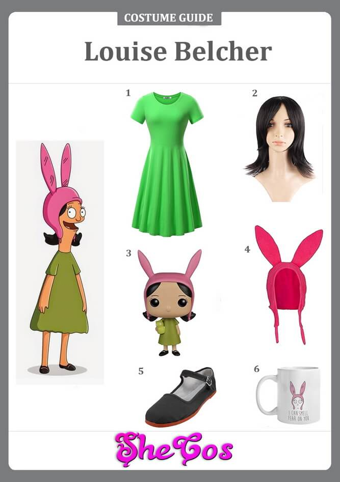 louise belcher costume diy