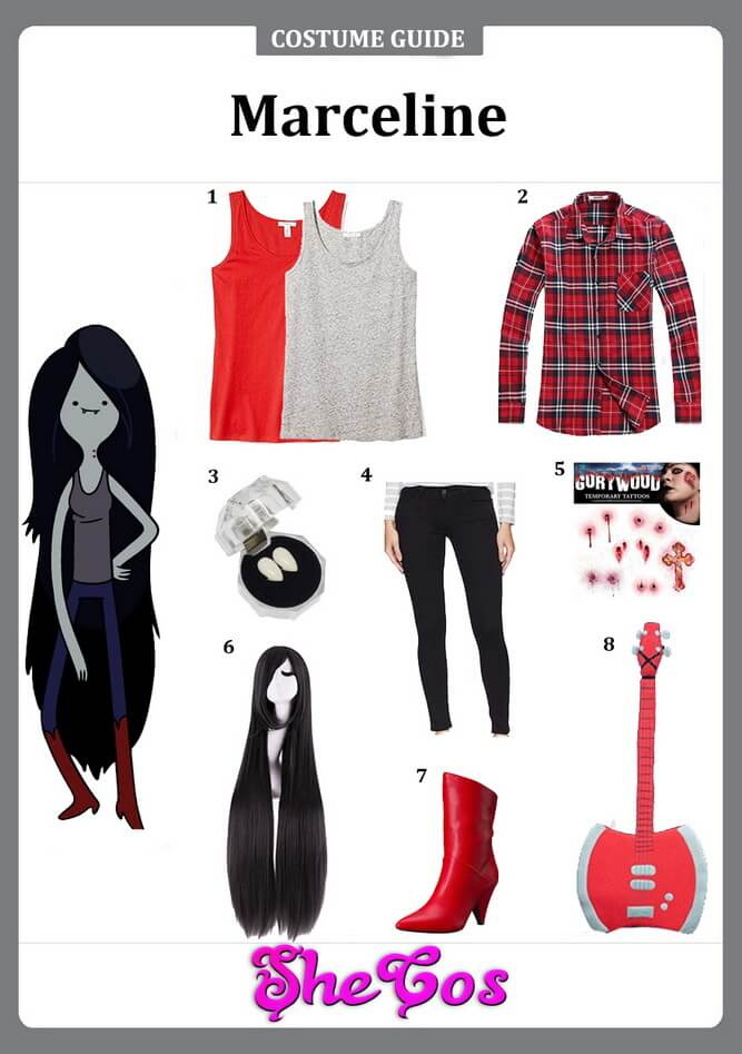 marceline costume ideas