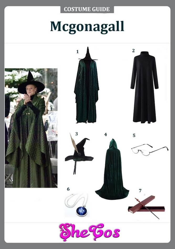 professor mcgonagall costume diy