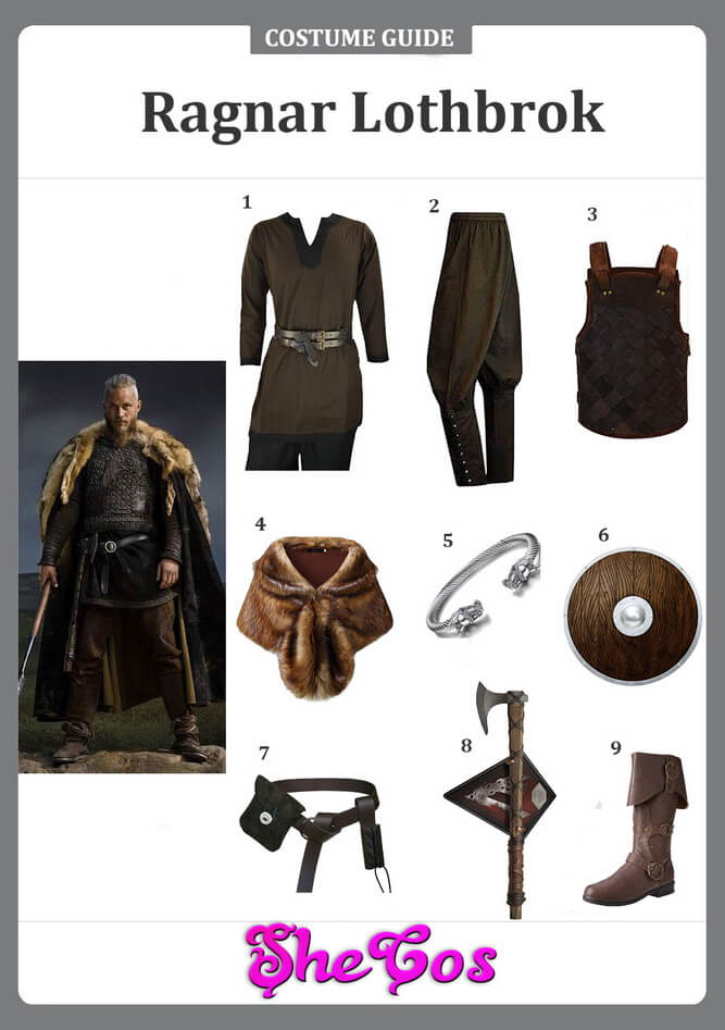 ragnar lothbrok costume ideas