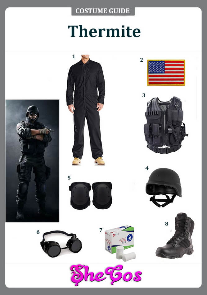 rainbow six siege costume ideas