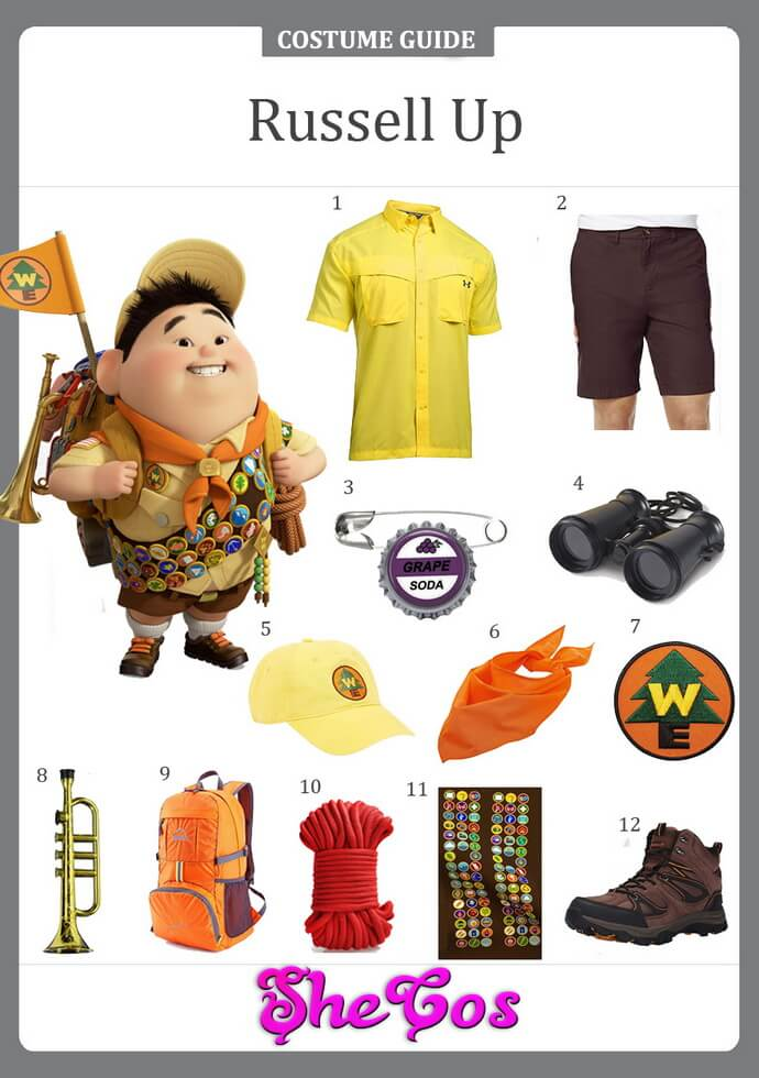 russell up costume