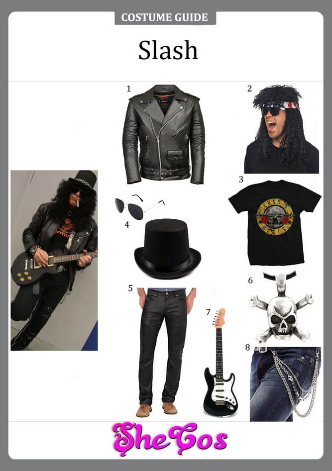 slash costume diy