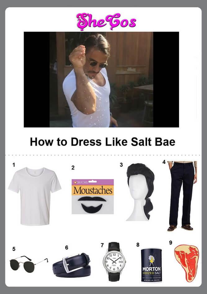 Salt Bae costume ideas
