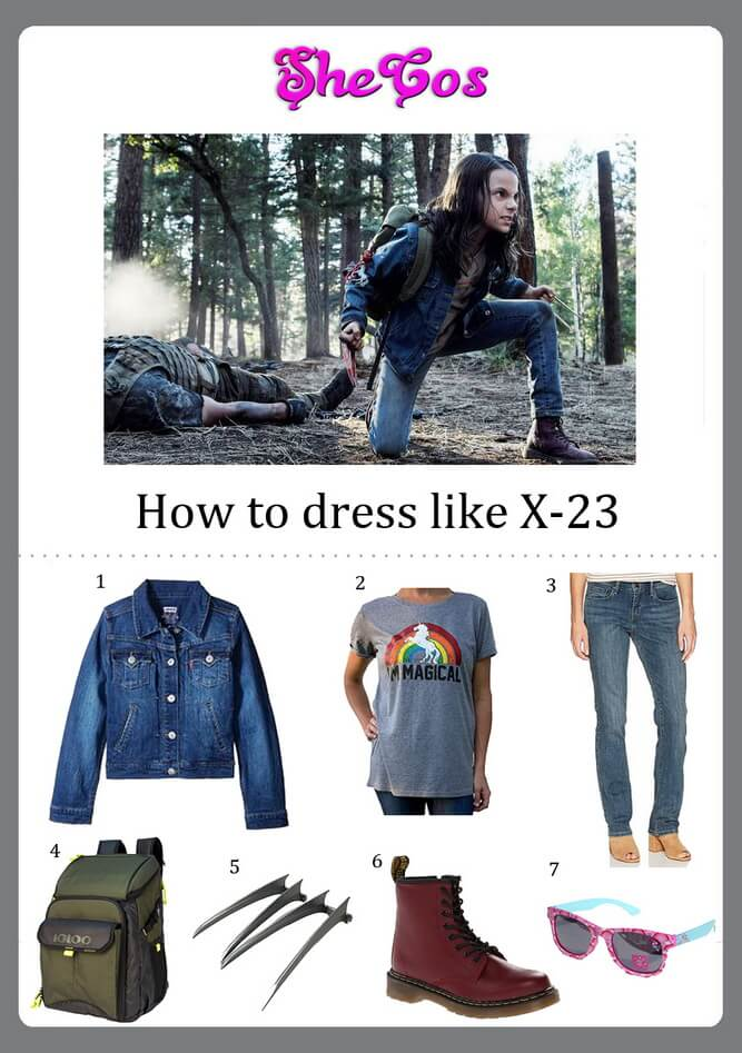 X23 costume ideas