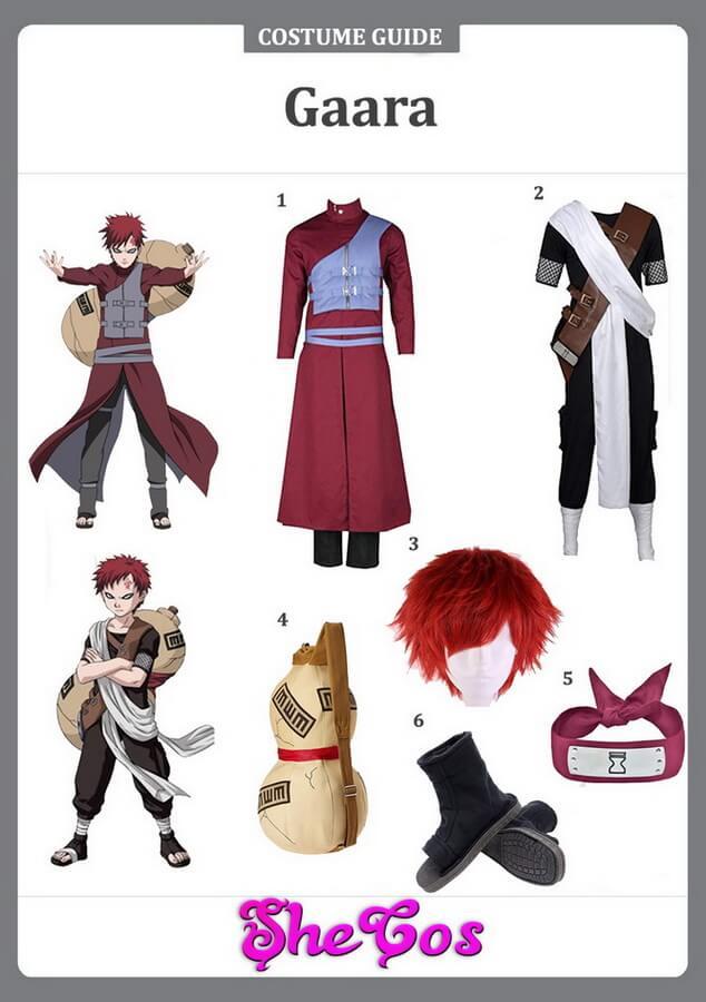 gaara cosplay ideas