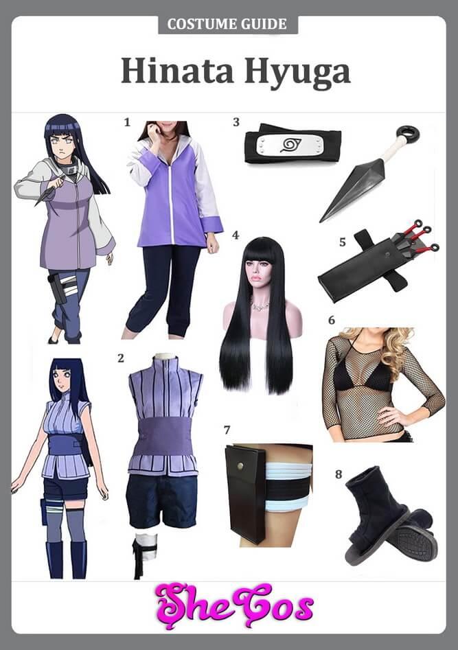 hinata hyuga cosplay ideas