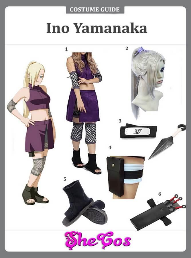 ino yamanaka cosplay ideas