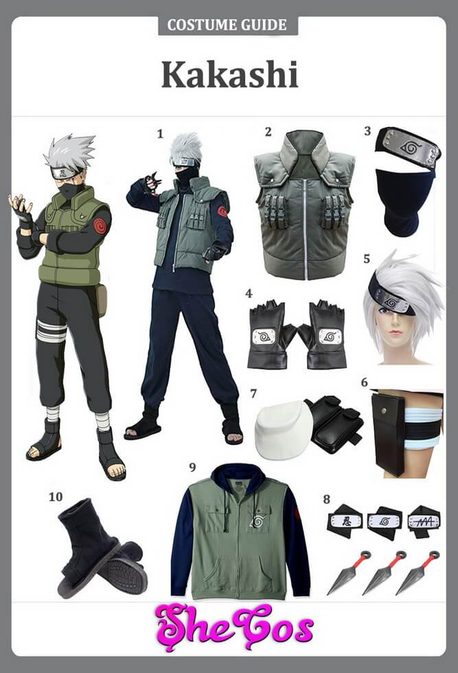 kakashi costume ideas