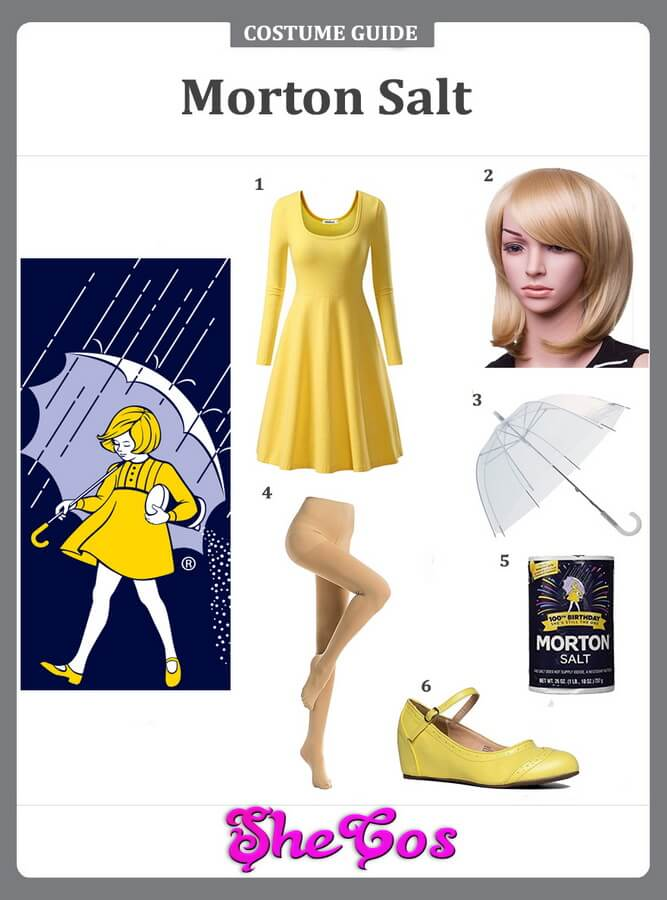 morton salt costume ideas
