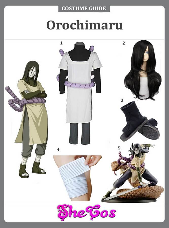 orochimaru cosplay ideas