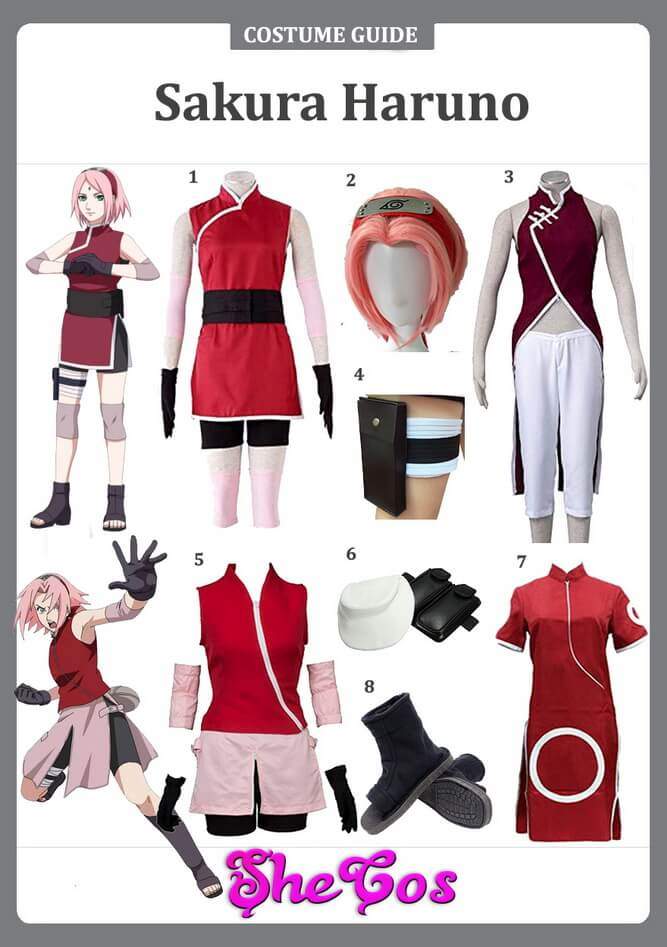 sakura haruno cosplay ideas