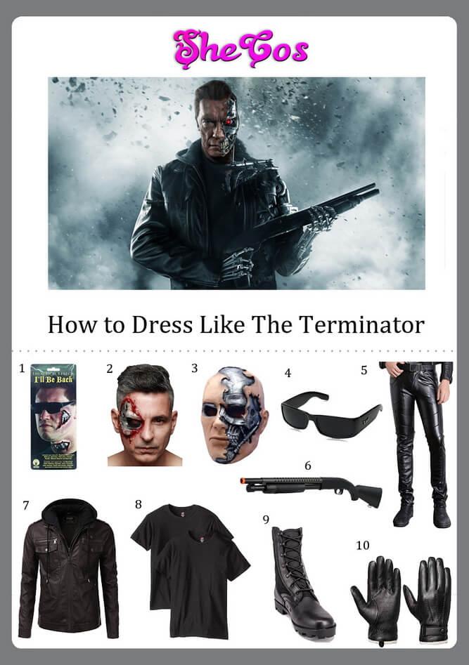 terminator costume diy