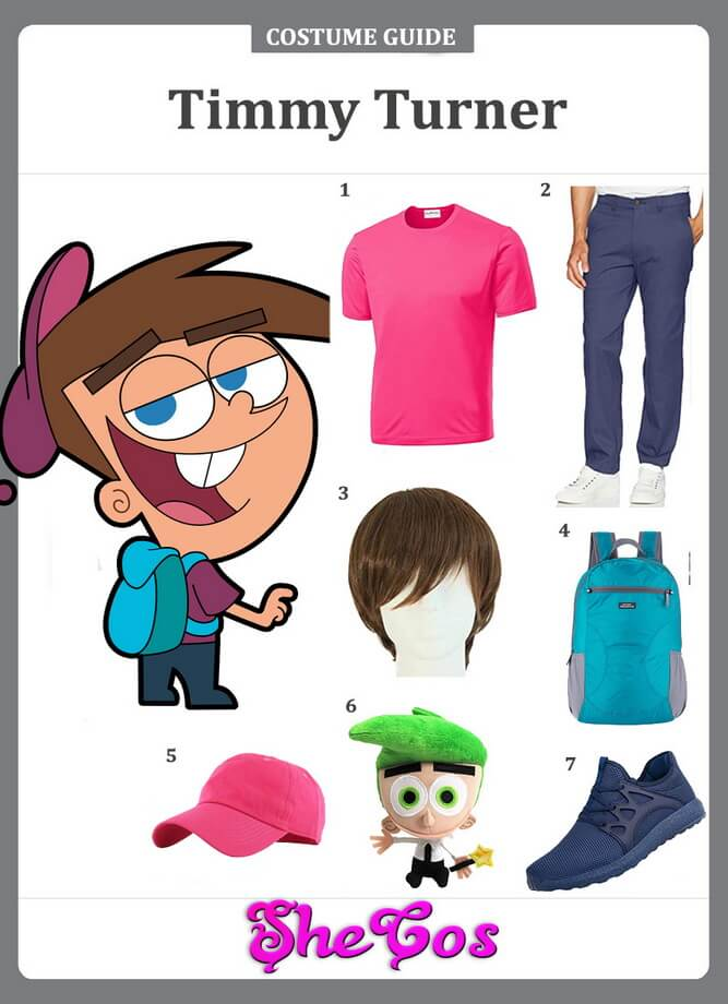 timmy turner costume diy