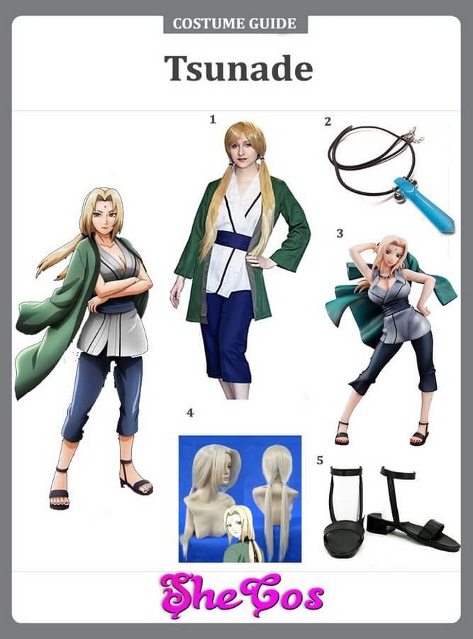 tsunade cosplay ideas