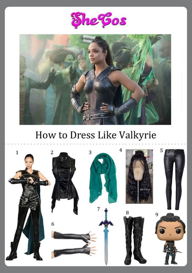 How To Make A Valkyrie Costume For Halloween Shecos Blog