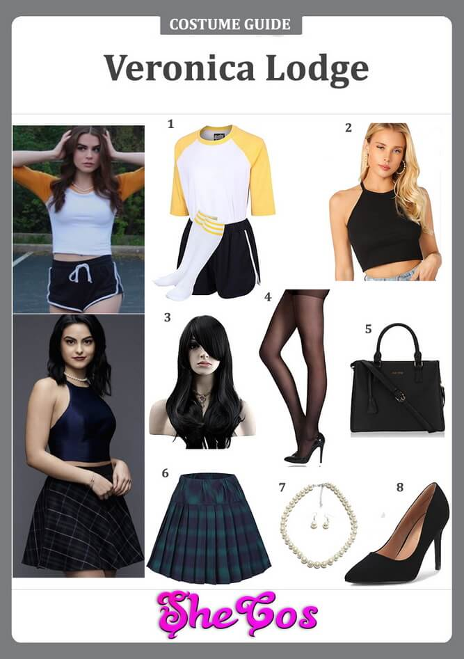 veronica lodge costume ideas