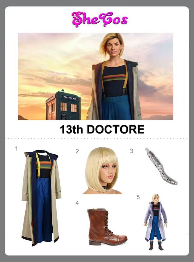 13th doctor costume diy