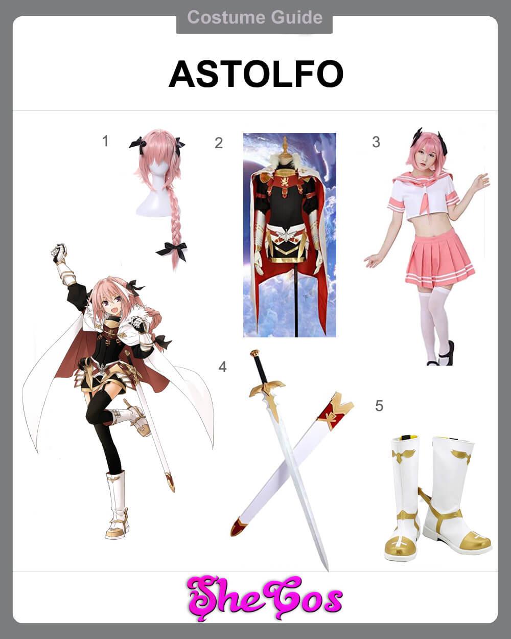 Astolfo Cosplay diy
