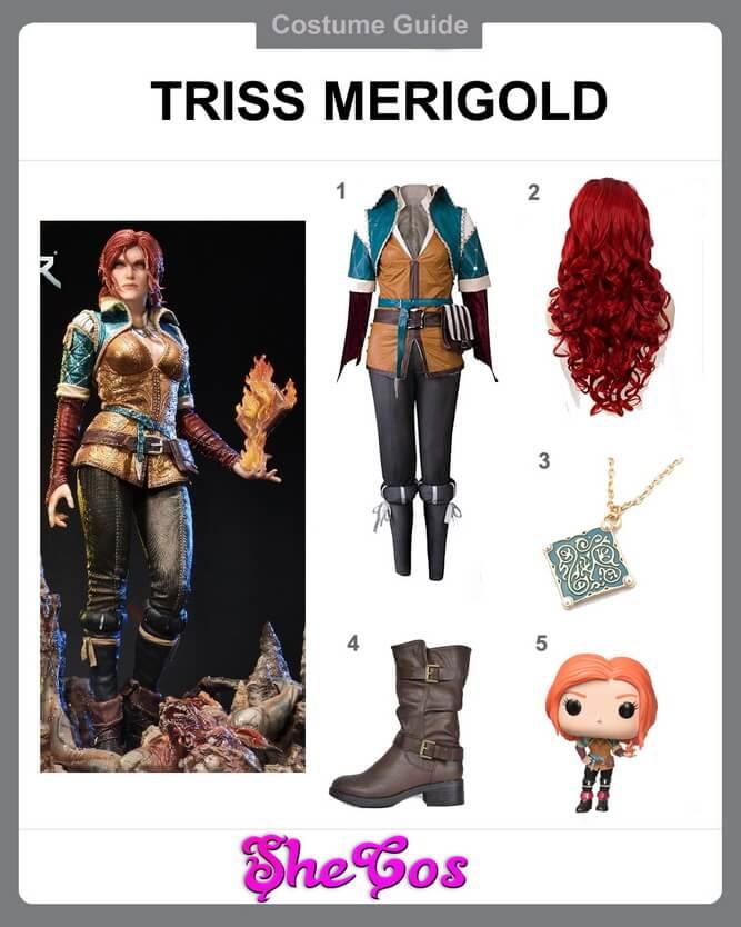 Triss Merigold Cosplay ideas