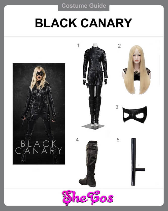 black canary costume ideas