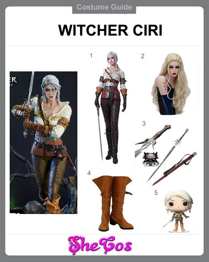 ciri cosplay ideas