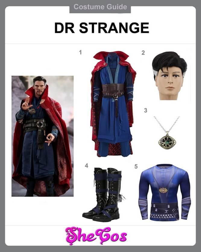 dr strange costume diy