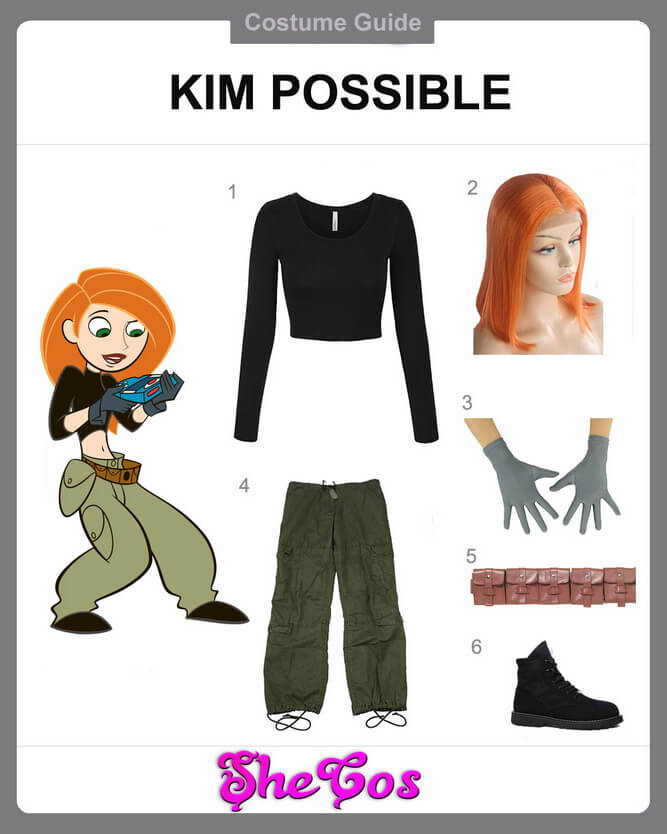 the completed kim possible costume diy guide shecos blog the completed kim possible costume diy