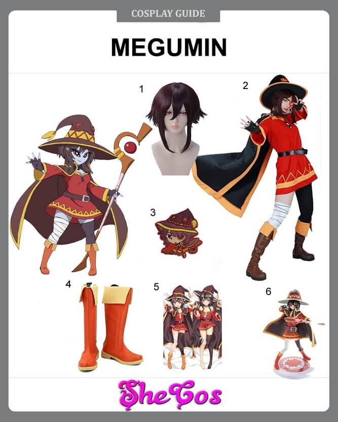 megumin cosplay ideas