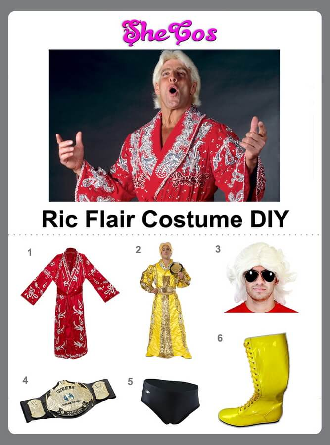 ric flair costume diy