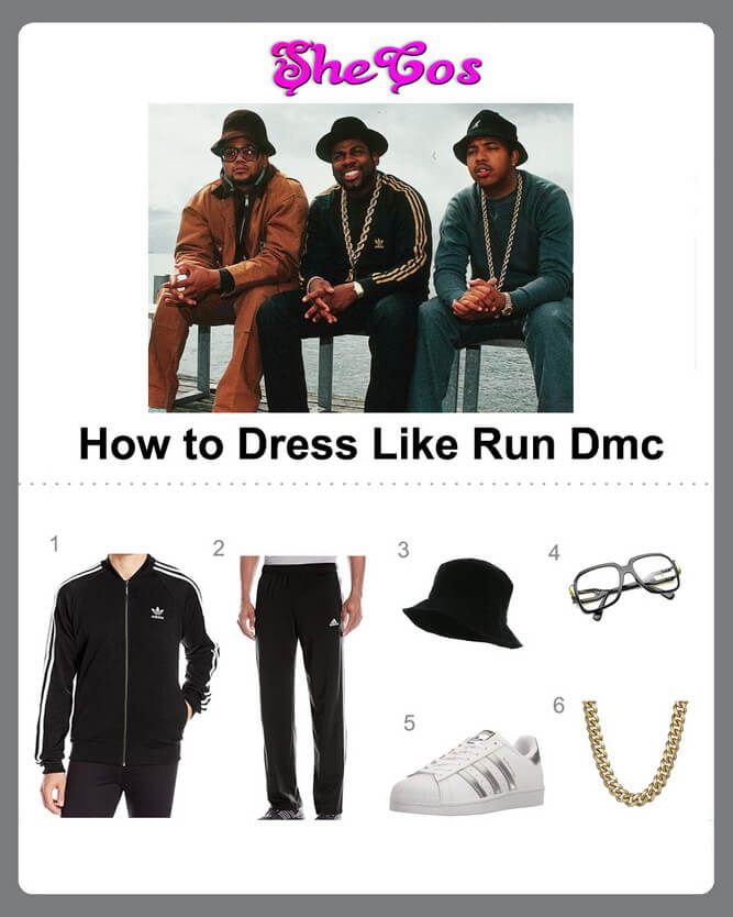 run dmc costume diy