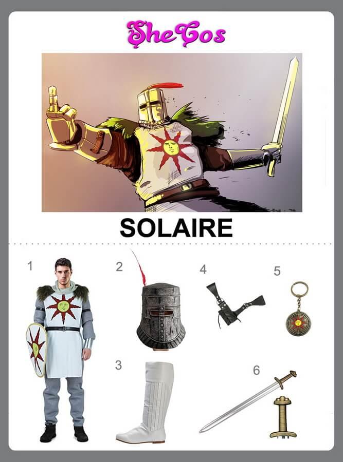solaire costume diy