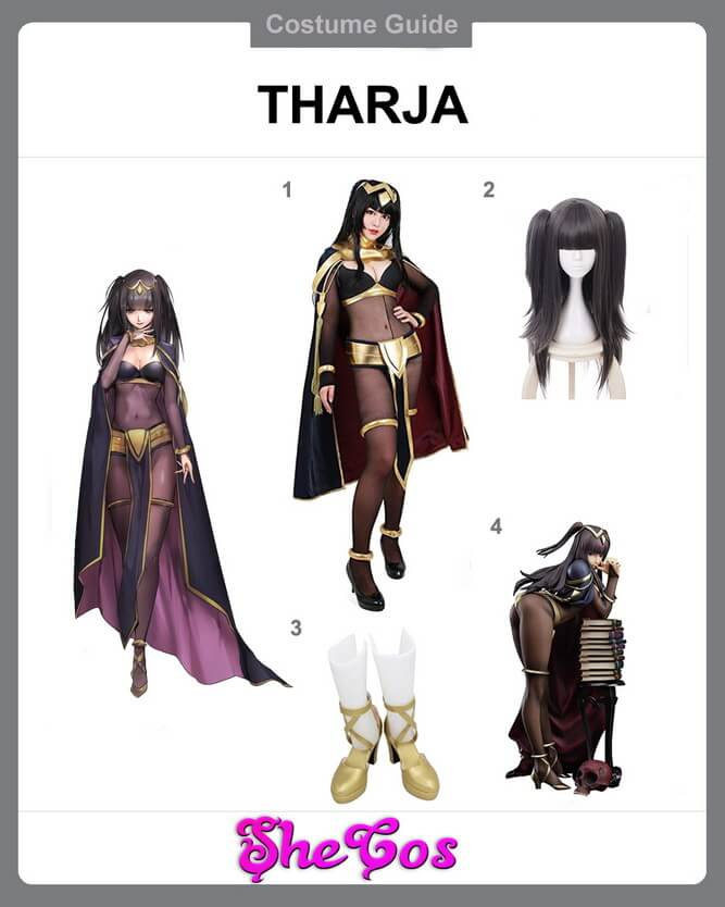 tharja cosplay diy