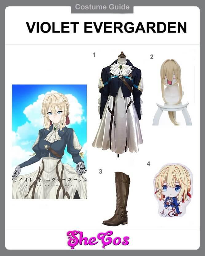 violet evergarden cosplay ideas