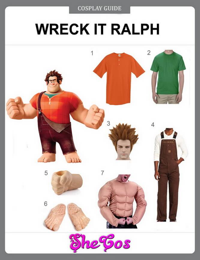 wreck it ralph costume diy