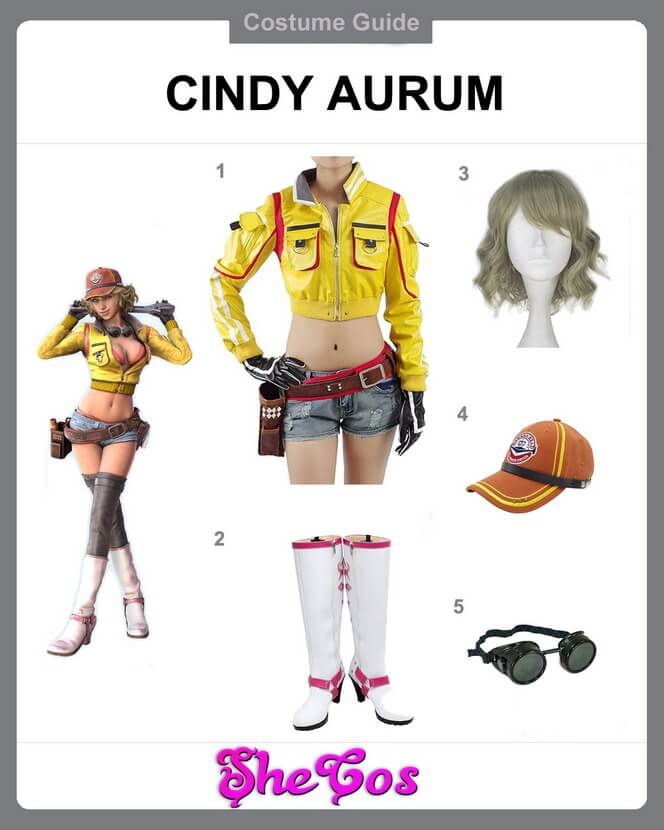 Cindy Aurum cosplay diy
