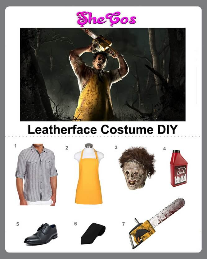 Leatherface costume diy