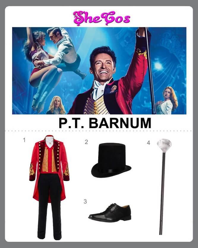PT Barnum costume diy