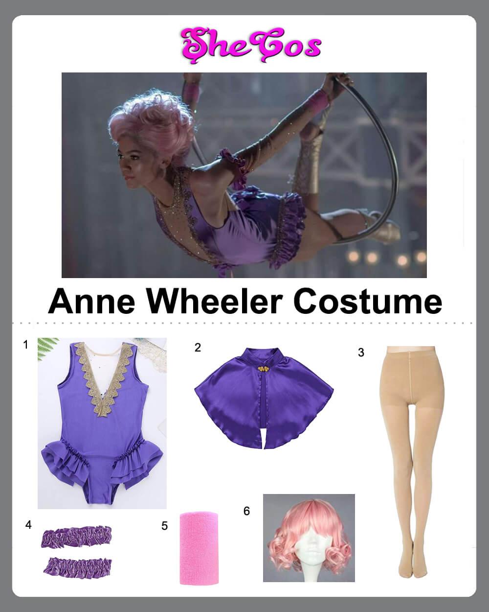 anne wheeler costume diy