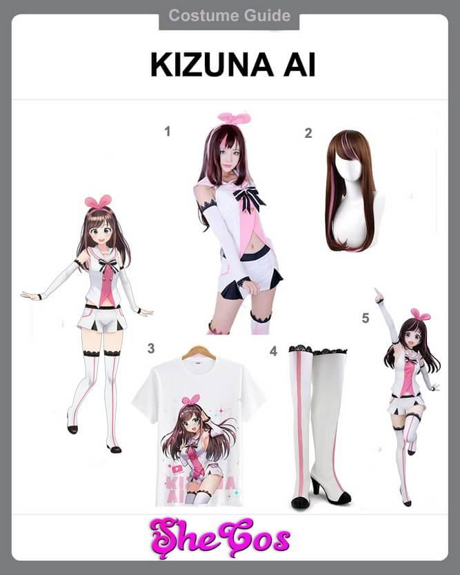 kizuna ai cosplay diy